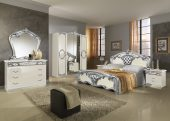 Collections MCS Classic Bedrooms, Italy Sara Ivory w/Silver
