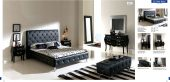 Collections Dupen Modern Beds, Spain Nelly 621 Black, M95, C95, B5, E95
