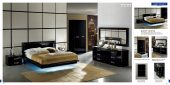 Bedroom  Furniture Modern  Bedrooms La Star Black Comp 5