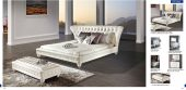 Bedroom  Furniture Modern  Bedrooms 1191 White Bed + 1191 Bench