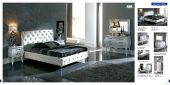 Collections Dupen Modern Beds, Spain Nelly 621 White, M95, C95, E95, B5, S95