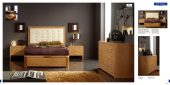 Collections Dupen Modern Beds, Spain Alicante 515 Cherry, M77, C77
