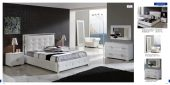 Collections Dupen Modern Beds, Spain Coco 624 White, M97, C97, E98, E96, SF24