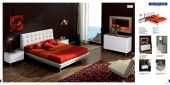 Bedroom  Furniture Modern  Bedrooms Toledo 603 White, M72, C72, E94